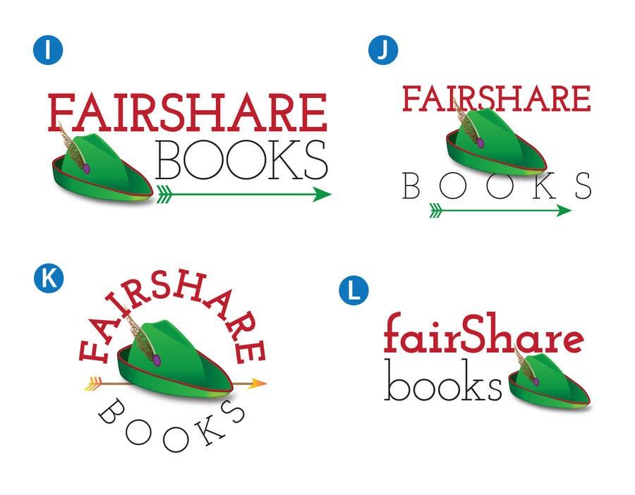 #81 for Design a Logo for FairShare Books by irvingguerrero
