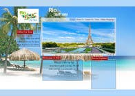 Contest Entry #10 for Create a Website Layout for a Tourism Company