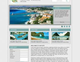 nº 8 pour Create a Website Layout for a Tourism Company par santanubera9