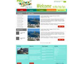 #14 cho Create a Website Layout for a Tourism Company bởi grafixeu