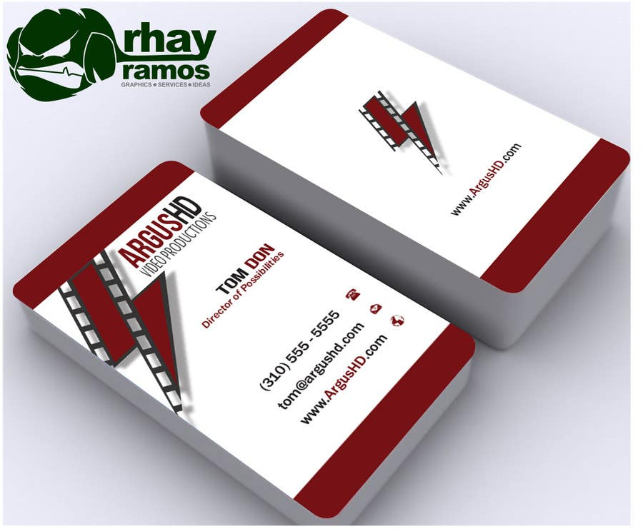 #48 for Business Card Design Contest : Using logo provide by rhayramos11