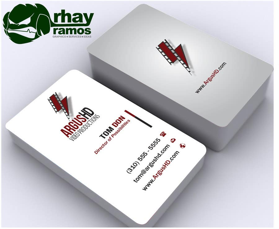 #51 for Business Card Design Contest : Using logo provide by rhayramos11