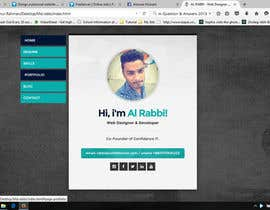 #2 for Design a personal website for a software developer by sumoncse55