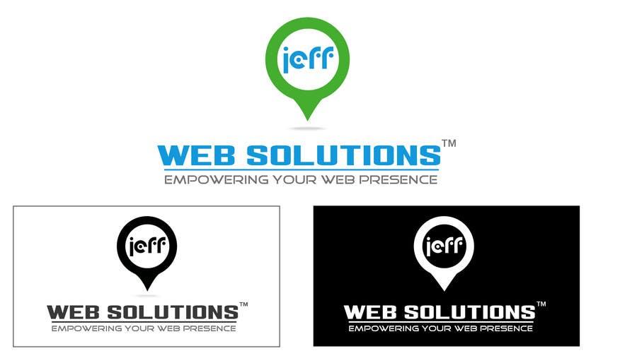 Bài tham dự cuộc thi #                                        66                                      cho                                         Design a Logo for Jeff Web Solutions