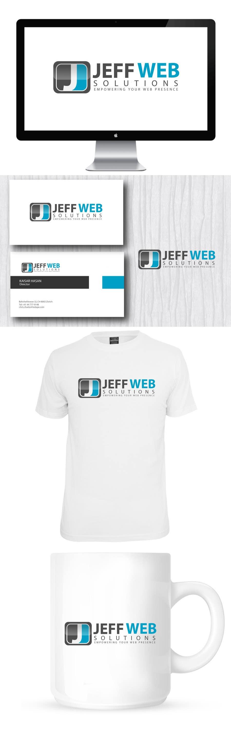 Bài tham dự cuộc thi #                                        69                                      cho                                         Design a Logo for Jeff Web Solutions