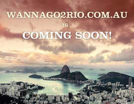 #17 for Design a Website Mockup for wannago2rio.com.au by Zeshu2011