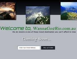 #10 for Design a Website Mockup for wannago2rio.com.au by zeeshanarshad