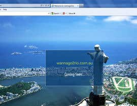#5 for Design a Website Mockup for wannago2rio.com.au by andriasys