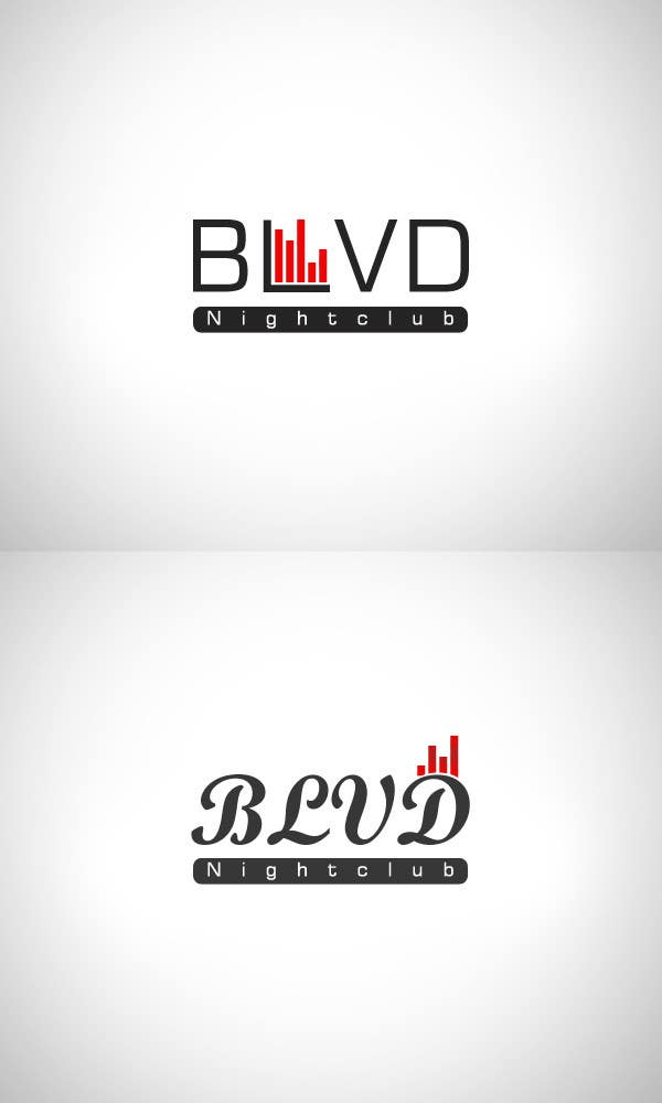 Contest Entry #8 for Design a Logo for nightclub called BLVD