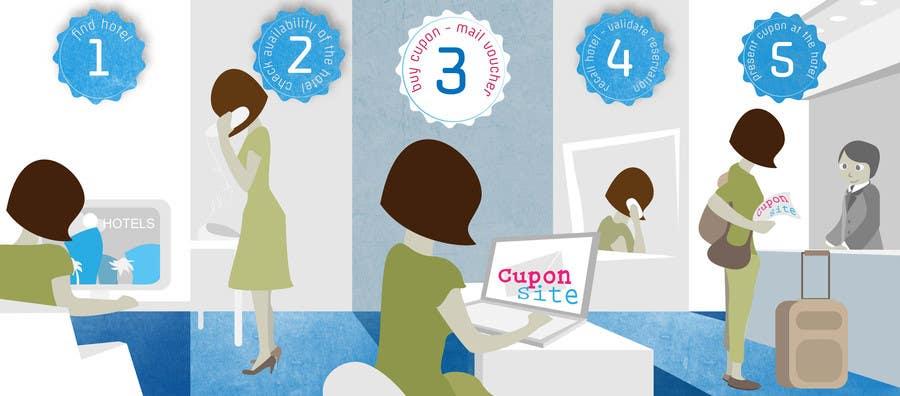 Kilpailutyö #6 kilpailussa Infographic Banner design