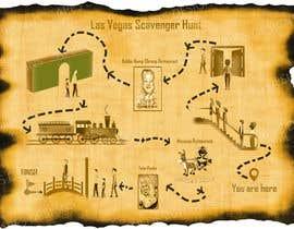nº 2 pour Design a fun map for Las Vegas Scavenger Hunt par Creativeapes1