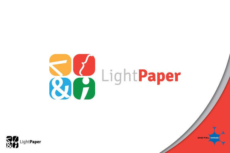 #47 for Design a Logo for LightPaper app by digitalmind1