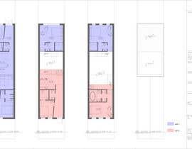 #27 para Layout a 2 family/3 story  townhouse por arzumanyan