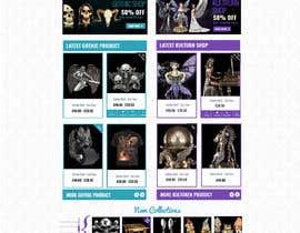 #63 for Redesign Gothic/Fantasy webshop (5 pages) af MagicalDesigner