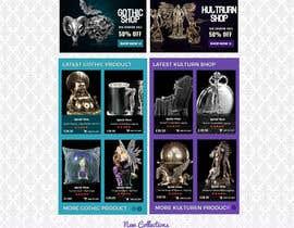 #75 for Redesign Gothic/Fantasy webshop (5 pages) af MagicalDesigner
