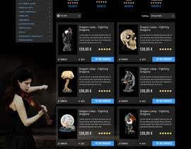 #56 for Redesign Gothic/Fantasy webshop (5 pages) af seguro
