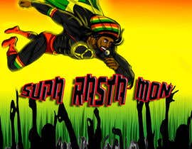#26 for Reggae Peace Superhero Pic by ktubbs24