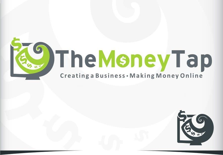 #133 for Design a Logo for my online Blog: The Money Tap by Crussader