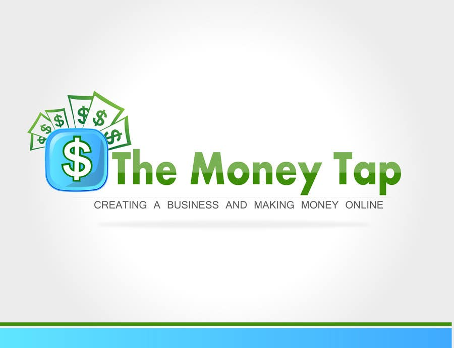 #152 for Design a Logo for my online Blog: The Money Tap by akhil0474