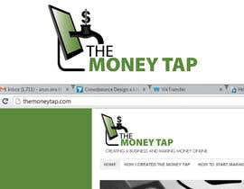 nº 145 pour Design a Logo for my online Blog: The Money Tap par arunanstk