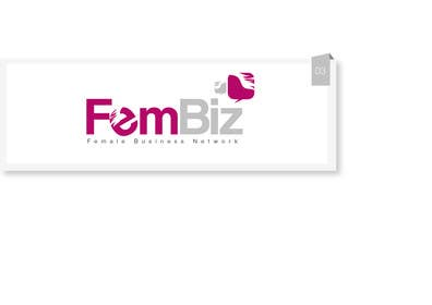 #47 para Design a Logo for FemBiz por creativeartist06