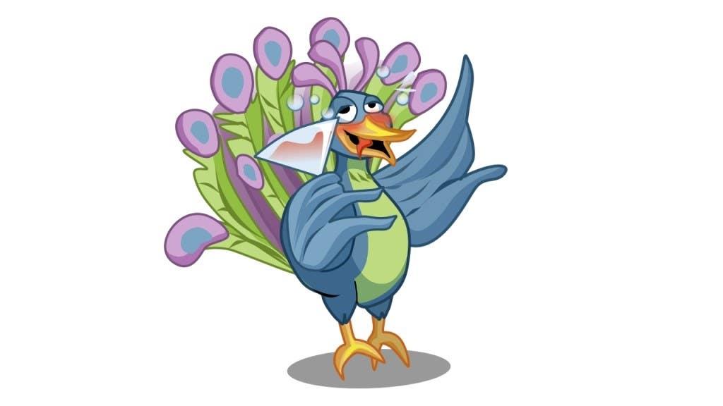 Bài tham dự cuộc thi #4 cho Boozy Peacock Mascot Design