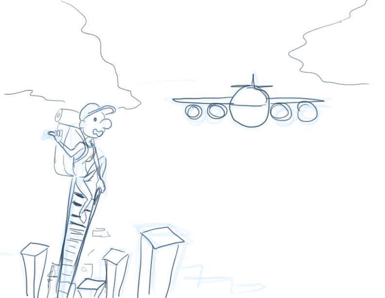 #10 for How far would you go to get a cheap flight? by eduardobravo