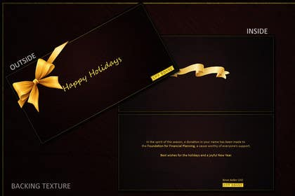 #10 untuk Graphic Design for A new holiday card project for the CFP Board oleh hellsan631