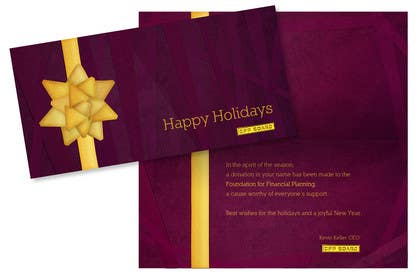 #9 untuk Graphic Design for A new holiday card project for the CFP Board oleh VenayaDesign