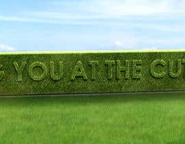#44 cho I need some Graphic Design for a strapline cut in a hedge bởi peshan