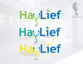 "#12 untuk Design a Logo for New Hayfever Tablet Box called ""Haylief"" oleh moorvina"
