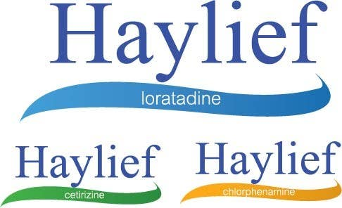 "Penyertaan Peraduan #16 untuk Design a Logo for New Hayfever Tablet Box called ""Haylief"""