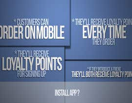 nº 17 pour Design a promotional poster for a mobile app and loyalty programme par EFrad