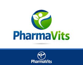 "#116 para Design a Logo for A New Range of Vitamins/Supplements called ""PharmaVits"" por catalinorzan"