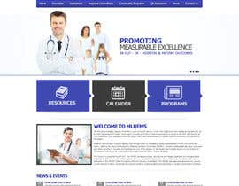 #10 for Design a Website Mockup for mlrems.org using henriettaambulance.org as design template by aliraza91