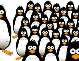 #16 untuk Illustrate a Cute Penguin and His Group!!! oleh gsapei