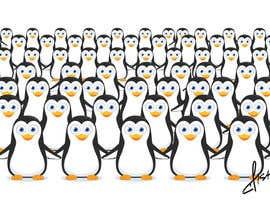 #37 untuk Illustrate a Cute Penguin and His Group!!! oleh SAMFISH