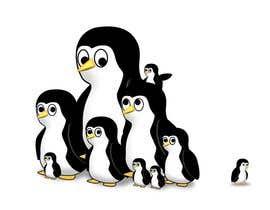 #5 untuk Illustrate a Cute Penguin and His Group!!! oleh jwi564281bf4773a