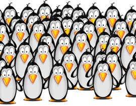 #35 untuk Illustrate a Cute Penguin and His Group!!! oleh ruxian