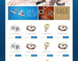#13 for Jewellery Store HomePage by iquallinfo