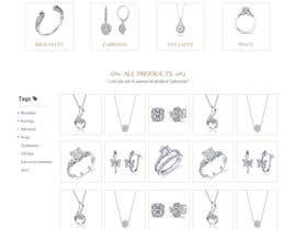#5 for Jewellery Store HomePage by martinaobertova