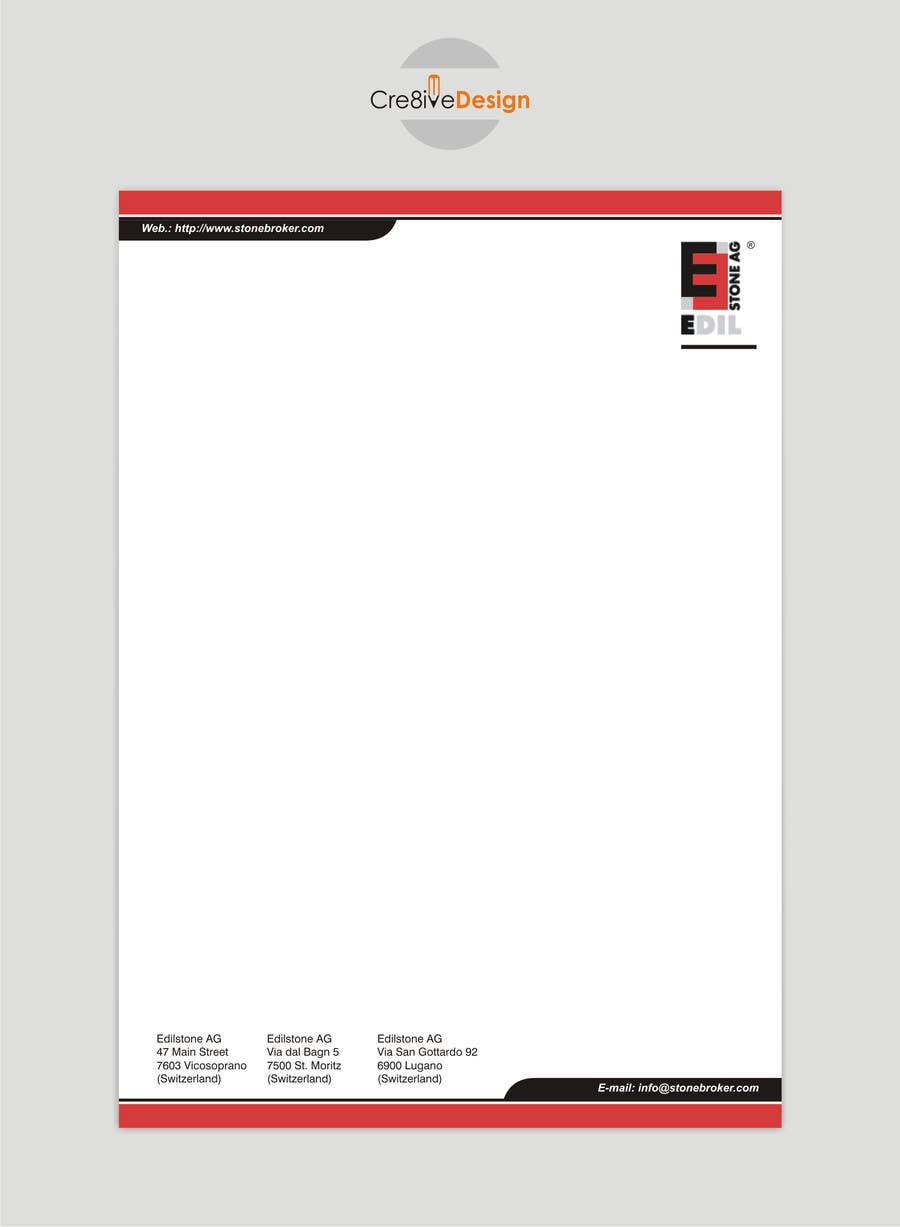 Contest Entry #20 for Design of the letterhead for a construction company