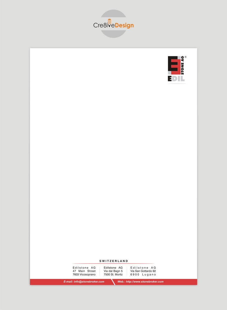 #22 for Design of the letterhead for a construction company by keshavpatel