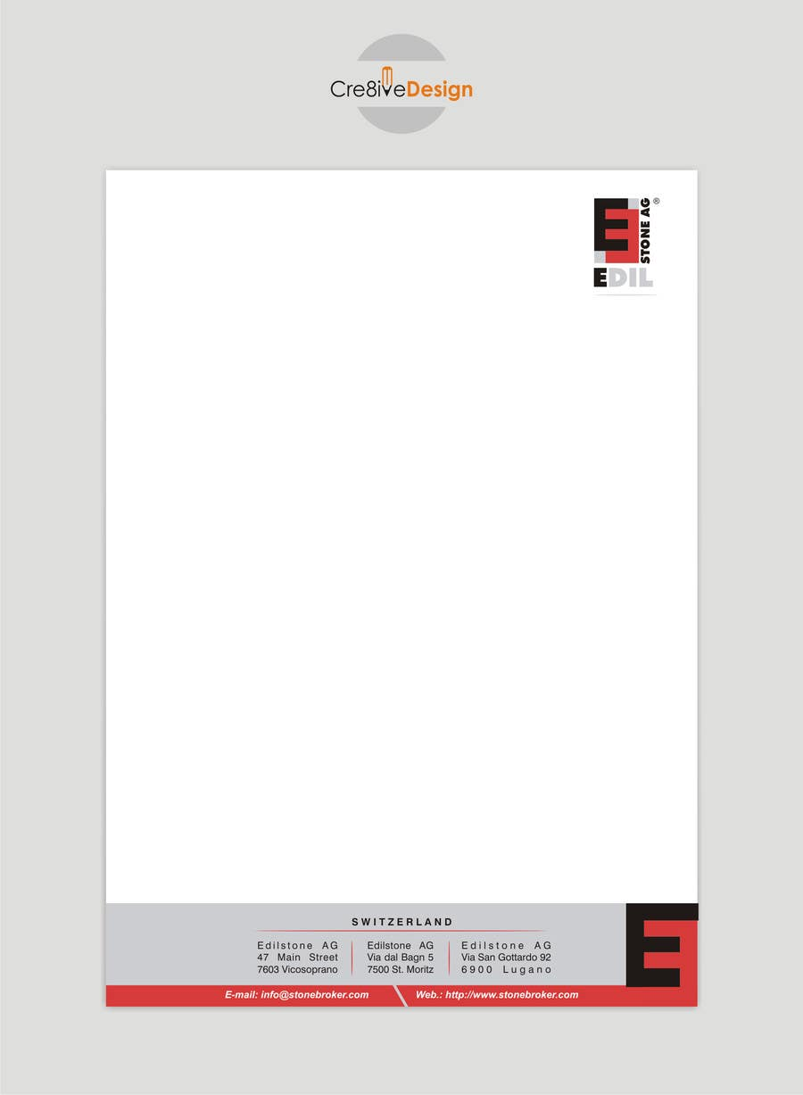 #24 for Design of the letterhead for a construction company by keshavpatel