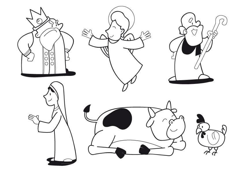 Inscrição nº                                         7                                      do Concurso para                                         Simple Cartoon Character development
