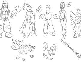 #13 para Simple Cartoon Character development por Anthorax