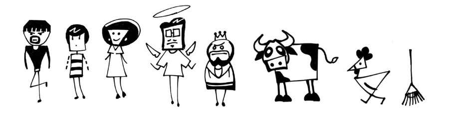 #11 for Simple Cartoon Character development by elyanj04
