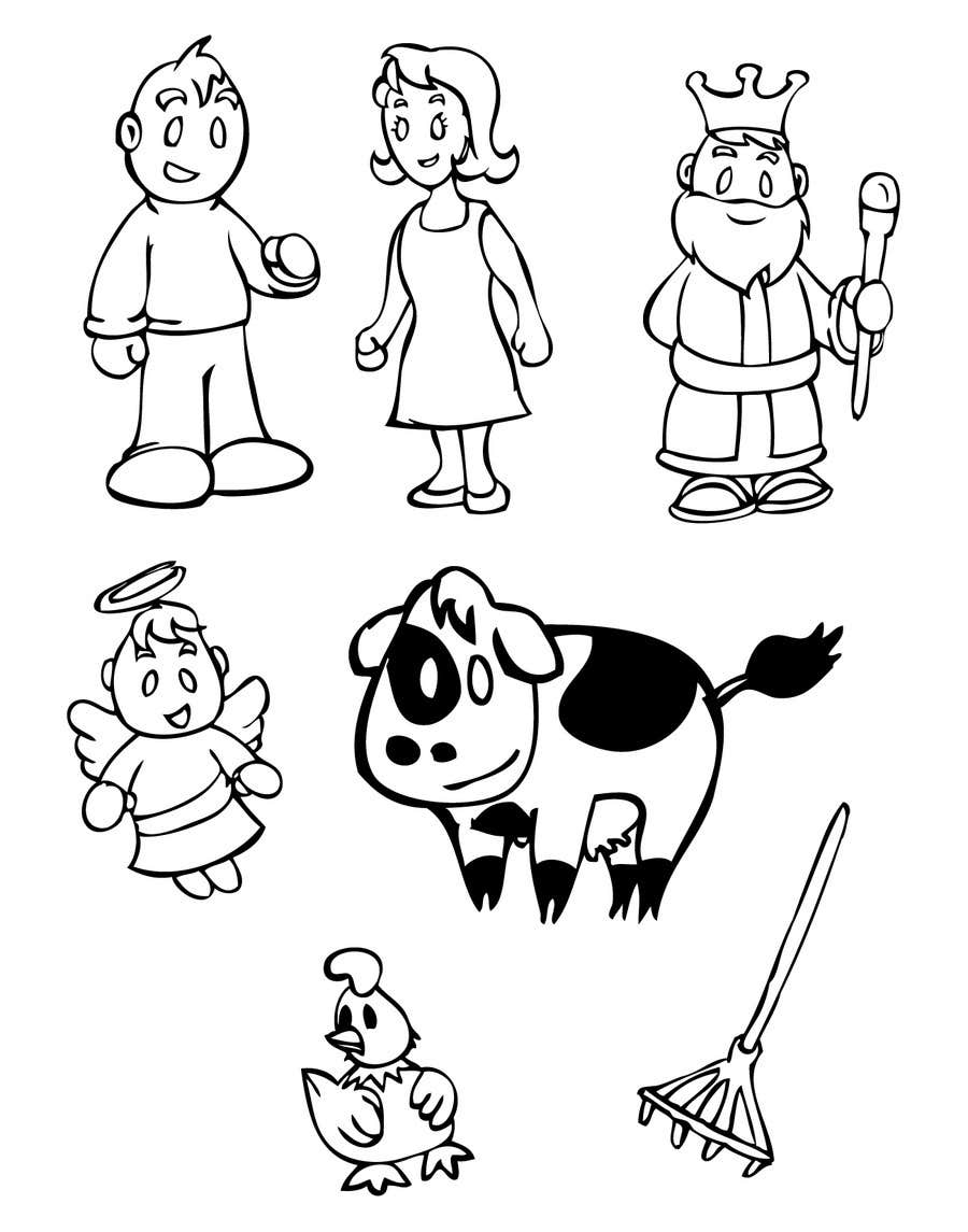 Kilpailutyö #6 kilpailussa Simple Cartoon Character development