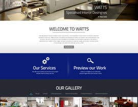 nº 11 pour Design a Website Mockup for Western/Cowboy sports med - AND - Renovations par arunnm89