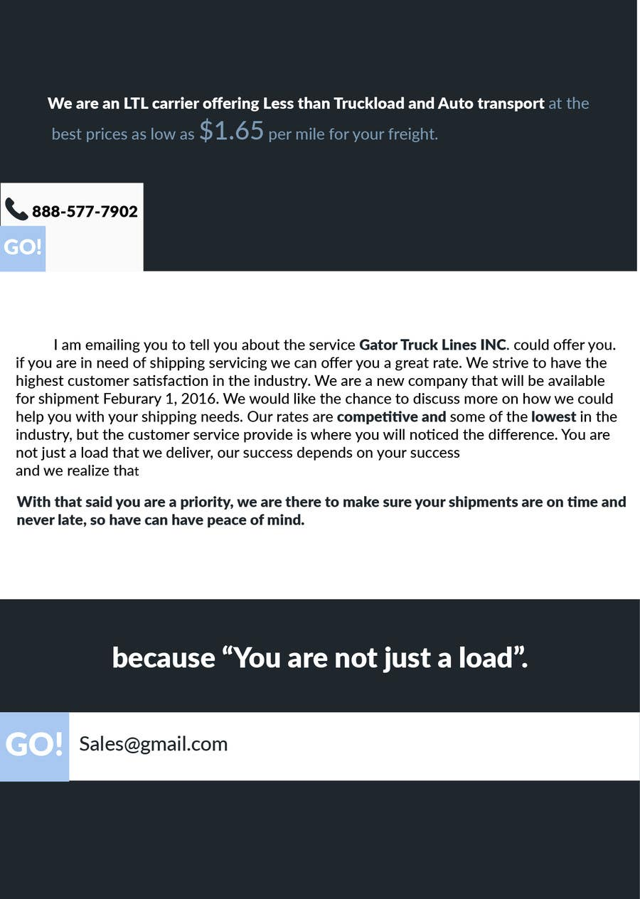 Entry #2 by Josevisamu for I need a sales email template with ...
